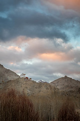 Desert Storm (Gautam Pardake) Tags: gautam india ladakh pardake travel winter leh palace cold mountains himalayas gonpa monastery clouds colours
