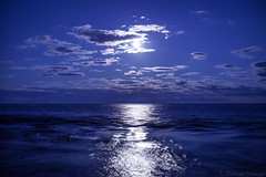 Light above the lake (michaelraleigh) Tags: night landscape lakesuperior highquality water moon lake statepark tettegouche beautiful sky secluded reflection dark outdoors infocus canoneos5dmarkii serene canon minnesota