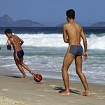 Footvolley at Leme beach thumbnail
