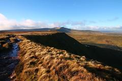 Leading Lines to Pen y Fan (richardstelmach) Tags: brecon beacons penyfan leading lines leadinglines zigzag wales landscape