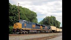 8/1/15 Teaneck NJ CP10, CSX River Line CSX #3245 ES44AH CSX #3027 ES44AH Train ID: Q010 (beagenm) Tags: 3245 3027