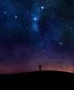 Night sky praise (Xuân Huy Late) Tags: background christian cosmos field galaxy boy god grass hands hill nebula night praise silhouette sky space stars surreal universe man worship