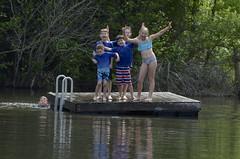 DSC_0405 (larkin.family) Tags: dock emma lake max owen ryanpaul sam tbarrett