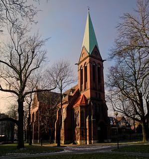 Siemianowice - evangelical church