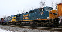 GECX 7306, 7351, Lake, Neenah, 25 Jan 18 (kkaf) Tags: neenah a447 lake leaser gecx excsx c408w
