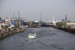 Hamburger Hafen. Hamburg Wilhelmsburg - Reiherstieg. (fipixx) Tags: hamburg hafen hamburger wasser fluss elbe harbor water river urban arte
