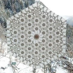 """""""3.4.6.4"""" (extended) (ale_beber_origami) Tags: origami tessellation paper folding paperfolding pattern tiling 3464 math art"""