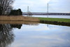 Reflections (Barry Miller _ Bazz) Tags: dock river widnes west bank halton spike island bridge mersey gateway