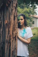 Roberta (Natalie Abdulmalik) Tags: canon powder brazilian brazil house tree nature colors girl