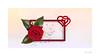 My Heart Will Go On (Meu :-)) Tags: myheartwillgoon flickrfriday macro happyvalentinesday lovethemefromtitanic rose leaves babybreaths