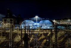 The Prague's Central Station (kubrt89) Tags: prague architecture railway station evening canon eos 77d nightphoto nightlights
