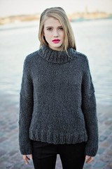 Teen in casual turtleneck knitwear outfit (Mytwist) Tags: milano italy strikk origpic knit knitwear style fashion outfit tn tneck wool fetish retro classic craft winter women sweater design love girl charcoal teenage gf sexy cozy chunky bulky ski casual weekend boyfriend gift fit sweatergirl blonde laine grey unisex sex mohair