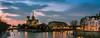Cathédrale Notre Dame de Paris - Blue hour - Long Exposure (valecomte20) Tags: cathédrale notre dame de paris blue hour long exposure town sunset nikon d5500 seine longueexposition water