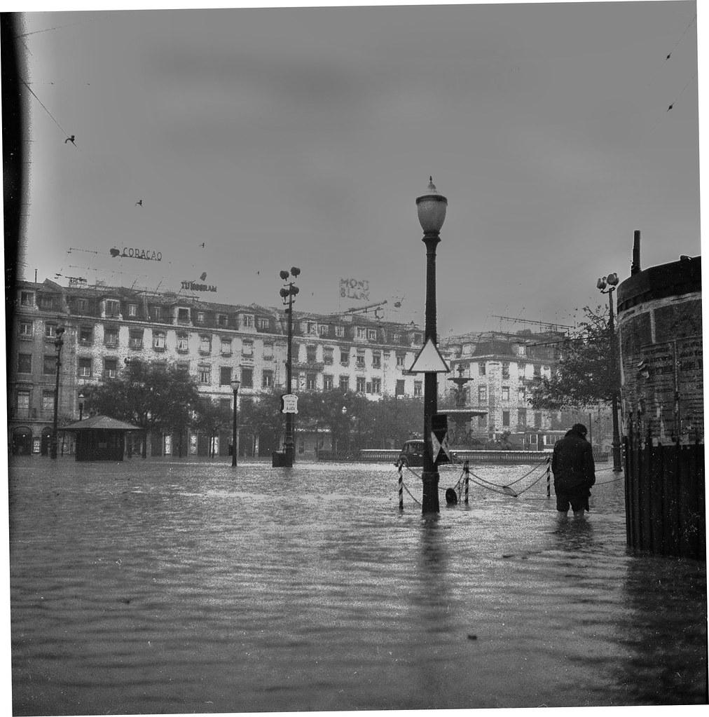 Rossio de Lisboa (J. Benoliel, 1945)