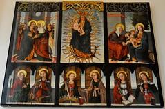 Astorga (León). Palacio Episcopal. Museo de los Caminos. Retablo de la Virgen. 1505, Anónimo (santi abella) Tags: astorga león castillayleón españa museodeloscaminos retablos palacioepiscopaldeastorga