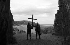 Wicker Women (Lord Eglinton) Tags: scotland st ninian cave whithorn wicker man christopher lee beach film religion church saint jesus