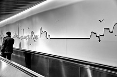 Outsider (encantadissima) Tags: roma lazio aeroporto people boy streetphotography bienne murales