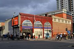 Lambeth North (R~P~M) Tags: lambeth london england uk unitedkingdom greatbritain train railway station underground tube bakerlooline lambethnorth