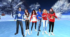 OS-friends-hockey_021 (lanclave) Tags: winter outdoor virtualreality frozen pond secondlife osgrid metropolis hypergrid metaverse oculusrift imvu avatar opengl hockey skating sports ice park scenic easports toronto minnesota montreal newyork newjersey chicago mapleleafs wild canadiens rangers devils blackhawks sweater jersey fun friends maya 3dsmax blender render nature nhl