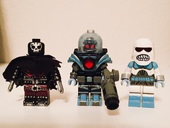 More Repaints (Jake Vitlock) Tags: lockverse custom snowman reaper mr freeze batman dc lego
