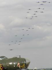Flying Legends Duxford Balbo 2006 (davemalcolm75) Tags: warbirds sallyb thefightercollection flying balbo duxfordflyinglegends