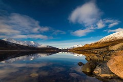 Loch Cluanie (L.P.M PHOTOGRAPHY) Tags: loch mountain water reflection snow scotland travel beauty roadtrip cluanie adventure canonuk landscape srb filters