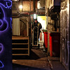 Early Morning (Mick Steff) Tags: morning manchester street urban delivery man male one single