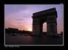 París. (jmadrigal09) Tags: jmadrigal parís francia arcodeltriunfo arte art atardecer