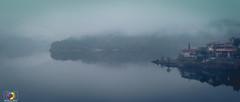 Panoramic Geres (brunomeida27) Tags: panorama panoramica panoramic agua lake lsgo lago water canon canon70d nevoeiro mist mistério mistery fog reflexo reflex manha mornig
