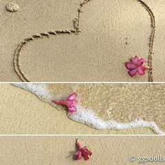love from Guam! (ggsdolls2) Tags: guam beach island home flowers heart sand photo beauty nature life