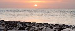 2017 - 12-28 - Widescreen - Moana - Sunset 01.jpg (stevenlazar) Tags: pylons beach ocean sunset australia colour water moana waves jettyruins adelaide 2017 southaustralia clouds