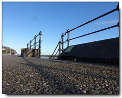 Along the Promenade ............ (reign 60) Tags: seacombeferry newbrighton promenade fencedfriday