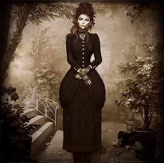 Victorian Portrait: Evelyn