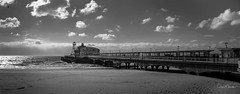 Bournemouth Pier (clive_metcalfe) Tags: pier bournemouth dorset uk sand ocean clouds