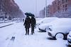 Neve in periferia (RM) - Snow in the suburbs (RM) (Stefano Innocenzi) Tags: bianco colori riposo occhi persone