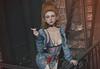 A cigarette, a fire-escape... (Gabriella Marshdevil ~ Trying to catch up!) Tags: sl secondlife cute doll kawaii mudskin bento catwa spiritstore sintiklia belleposes