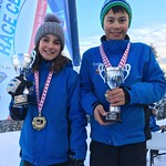Tyee Cup 2018 Winners Brooke Irish and Thomas Hung from Grouse Mountain Tyee Ski Club