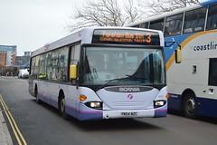 65007 YN54NZC (PD3.) Tags: 65007 yn54nzc yn54 nzc scania omnicity bus buses psv pcv hampshire hants england uk portsmouth solent first group fhd firstbus hard gunwharf quays
