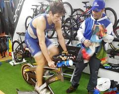 David Huertas triatlón Indoor team clavería triatlón World 5