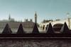 "4614C ""Toblerone"" (Panda1339) Tags: 28mm leicaq summiluxq london ldn architecture tourist uk sunlight toblerone bokeh bigben"