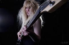 Girl on Bass (RickB500) Tags: portrait girl bass music musik allegra rickb rickb500 instruments blonde