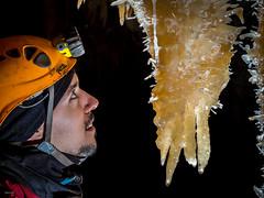 Calcite - Aven Armédia (30) - France (Romain VENOT) Tags: concrétions stalactites portrait caving caves grottes armedia spéléologie gard