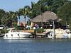 Casey Key Fish House (soniaadammurray - Off) Tags: iphone boating restaurant bar sea water trees hut sand docks boat lights sky benches people bench happybenchmonday osprey florida usa