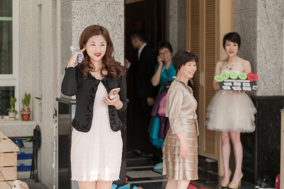 婚攝 高雄林皇宮 婚宴 時尚氣質新娘現身 S & R 037