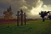 Es wird stürmisch - It's going to be stormy (cammino5) Tags: bullenheim kreuze herbst sturm gegenlicht oktober 2016 steigerwald franken deutschland