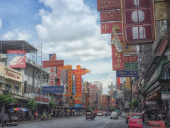 China Town in Bangkok (cattan2011) Tags: buildings architecturephotography architecture signboard chinatown bangkok thailand traveltuesday travelphotography travelbloggers travel streetpicture streetphoto streetphotography streetart landscapephotography landscape 泰国 曼谷