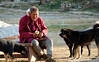 dog whisperer (geneward2) Tags: paro bhutan whisperer