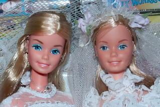 Superstar (Roller Skating) Vs. Bridal Barbie