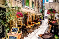 Split, Croatia (Kevin R Thornton) Tags: d90 split travel city cafe architecture croatia europe mediterranean 2017 splitskodalmatinskažupanija hr