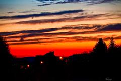 Le spectacle hier matin (kiareimages1) Tags: sunrise sky sun winter wallonie charleroi marcinelle belgium muséedelaphotographiecharleroi paysages landscapes paesaggi